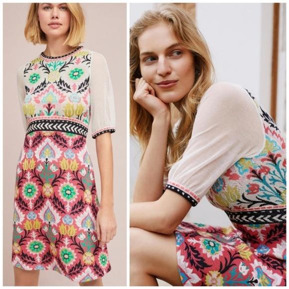 46aa9cf5f33f Anthropologie Dresses | Nwt Winona Knit Dress | Poshmark